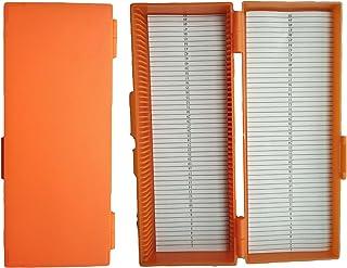 切片盒 プレパラートボックス ライド顕微鏡ボックス 50スライド顕微鏡ボックス