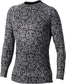 おたふく手袋 冷感・消臭 パワーストレッチ 長袖クルーネックシャツ JW-623 迷彩 M