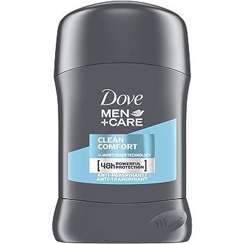 Desodorante en barra antitranspirante Dove Plus Care. Para hombre, modelo Clean Comfort, 50 ml, Pack of 6: Amazon.es: Belleza