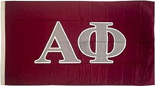 Alpha Phi Letter Sorority Flag Greek Letter Use as a Banner Large 3 x 5 Feet Sign Decor A Phi