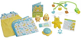 Melissa & Doug Mine to Love Bedtime Play Set for Dolls with Night-Light, Baby Monitors, Mobile, More (11 pcs)