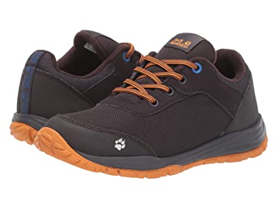 Jack Wolfskin Kids Kiwi Low (Toddler/Little Kid/Big Kid) (Dark Grey/Orange) Boys Shoes