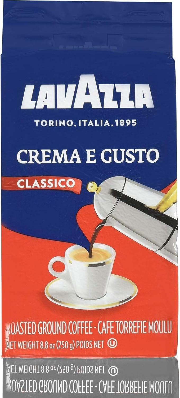 Atlanta Mall LavAzza Crema e Gusto Ground Coffee of 8 Pack 8.80 Sales for sale oz
