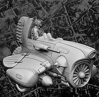 Unpainted Kit 1/35 USAF STOVL RF-118A with Pilot Set Figure Historical WWII Resin Figure Miniature Garage kit