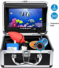 Portable Underwater Fishing Camera,HXEY with Water Depth and Temperature Function IP68..