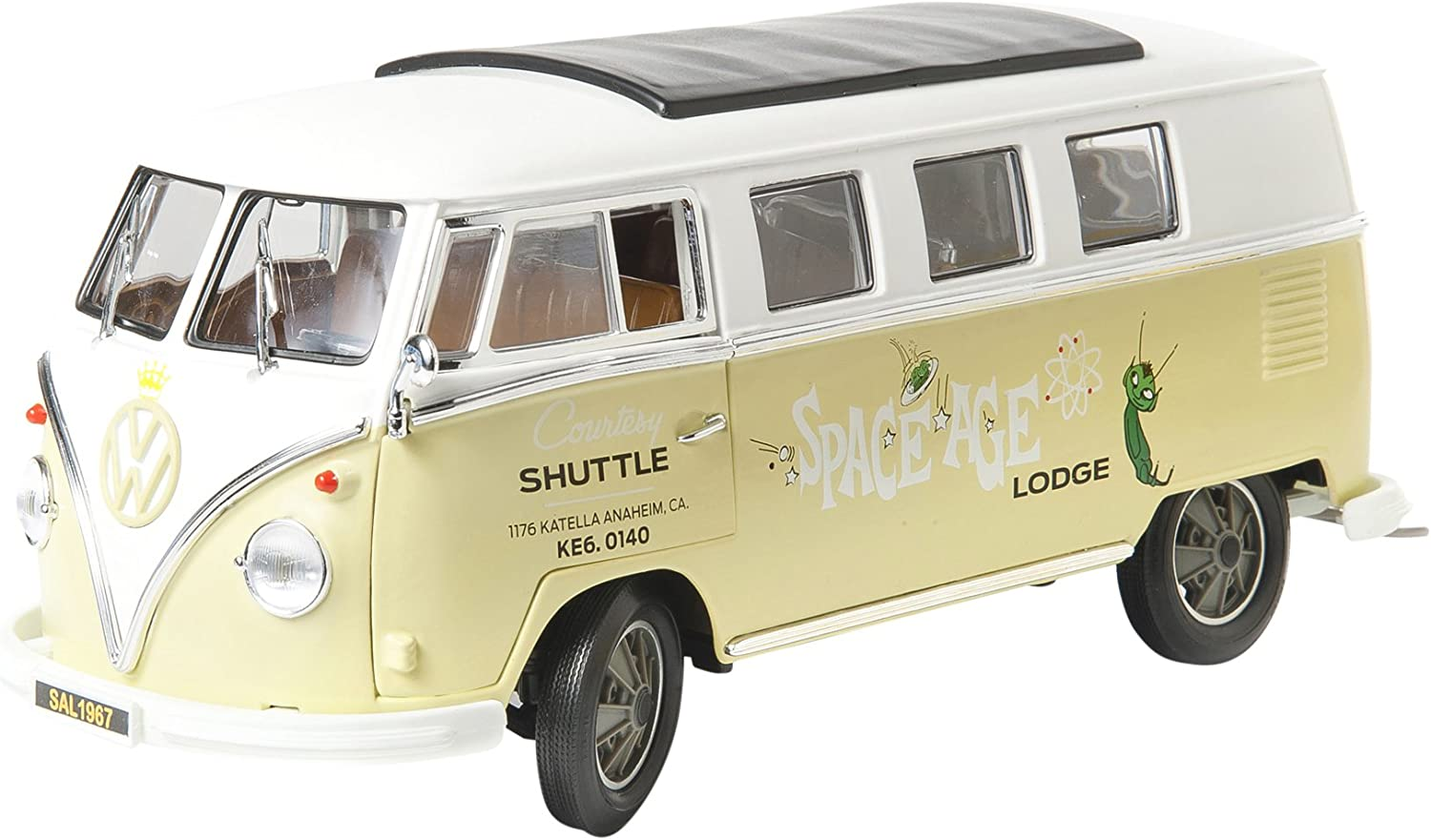 Collectibles 1 18 Scale  Space Age Lodge  1962 Volkswagen Micro Bus