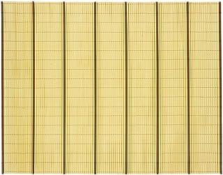 萩原 すだれ 黄土 約184X245cm たてす 「竹垣風たてす」 158012012
