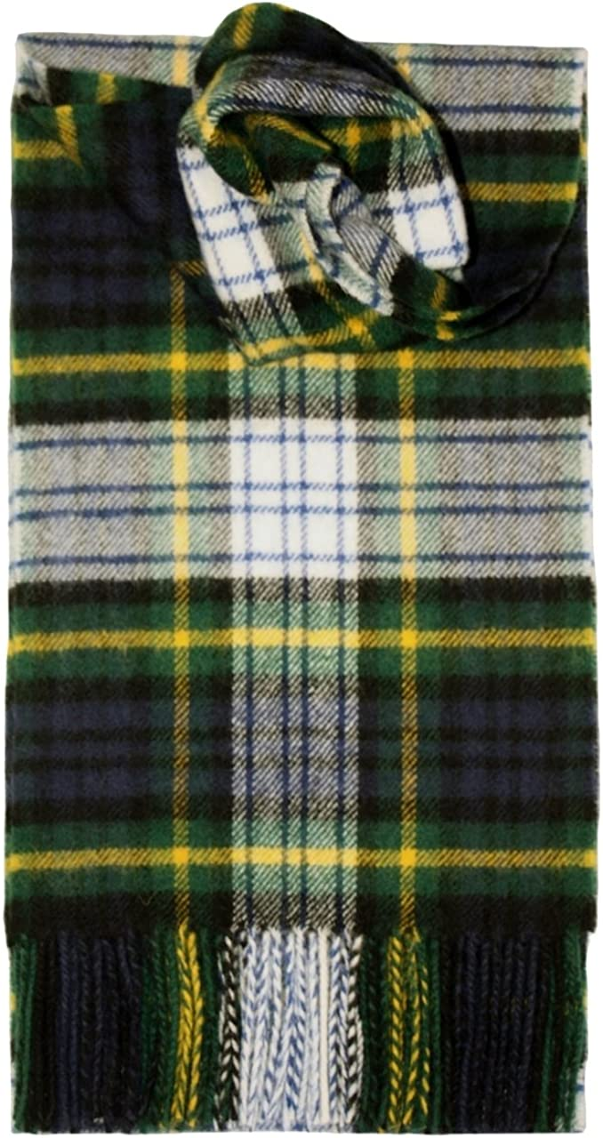I LUV LTD Gordon Dress Tartan Scarf Modern Lambswool