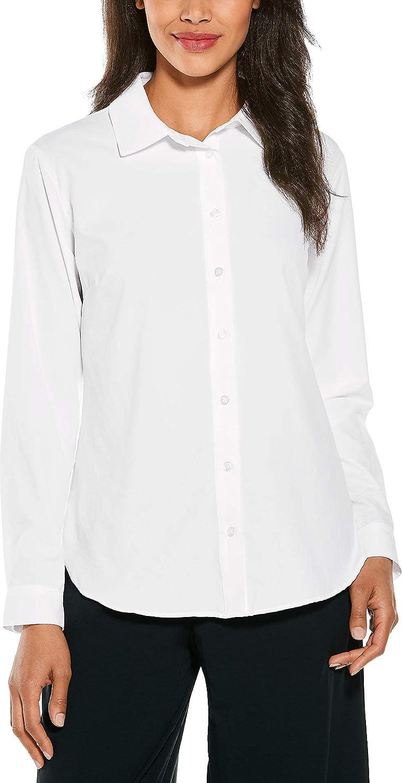Coolibar UPF 50+ Women's Rhodes Shirt - Sun Protective