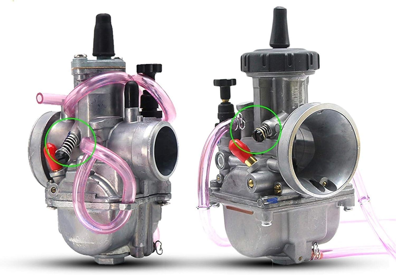 YYCHER Carburador universal PWK28 33 35 36 38 mm, compatible con 2T 4T Scooter ATV UTV 125CC 250CC 300CC 350CC 400CC 450CC (color: PWK28mm 2T)