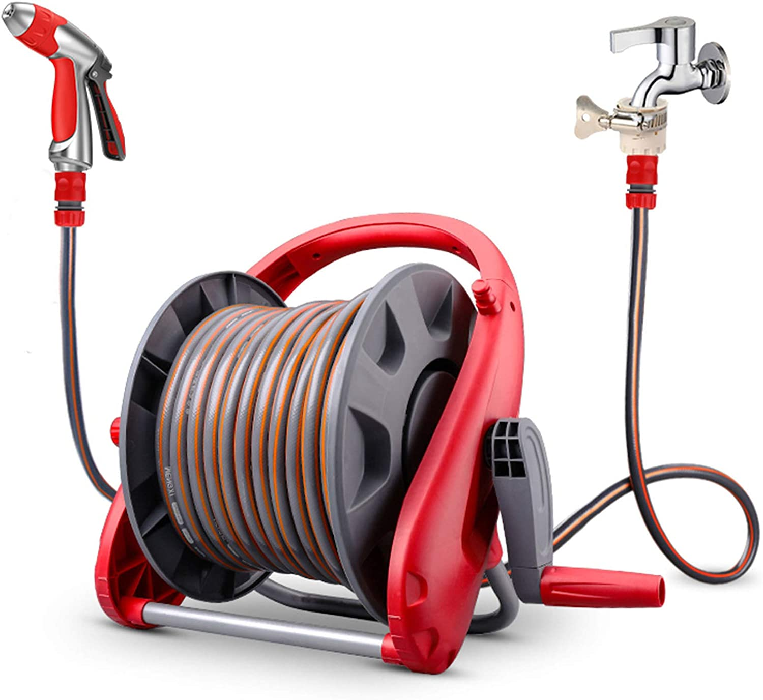 Portable Wall-Mounted Garden Hose Reel c Watering New York Mall and Household cheap