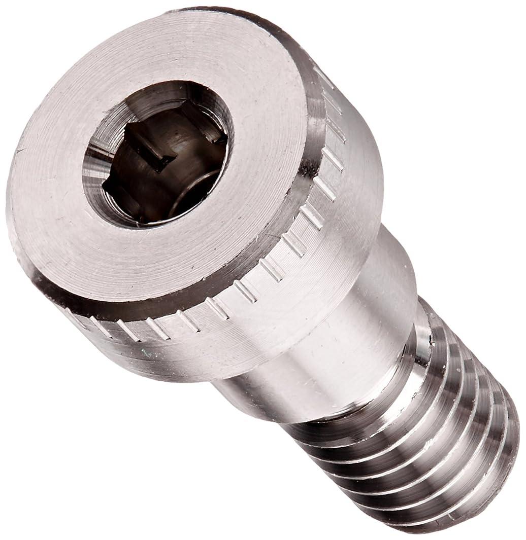 316 Stainless Steel Shoulder Screw, Plain Finish, Socket Head Cap, Hex Socket Drive, Standard Tolerance, Meets ASME B18.3, 3/8