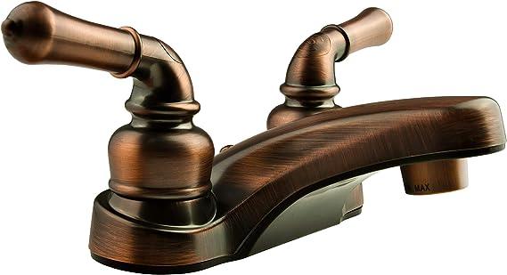 Oil Rubbed Bronze DURA FAUCET DF-SA300CL-ORB RV Shower Slide Bar