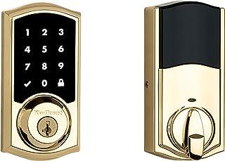 Kwikset 99160-019 SmartCOde 916 Touchscreen Smart Electronic Deadbolt Door Lock with SmartKey Security and Z-Wave Plus, Li...