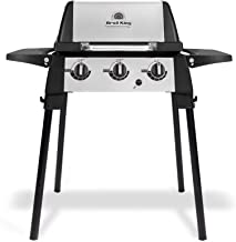 Broil King 952654 Porta-Chef 320 Portable Gas Grill, 1-Burner, Stainless Steel & Black (Renewed)