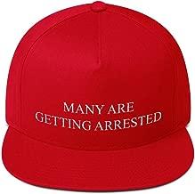 trump getting arrested