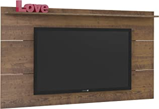 Artely Slim Wall Panel for 55 Inch TV, H 98 x W 180 x D 15cm, Pine,