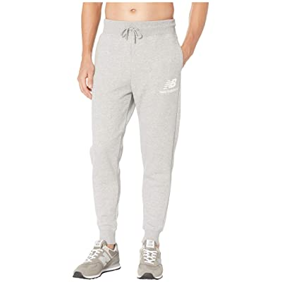 New Balance Essentials Brushed Sweatpants (Athletic Grey) Men