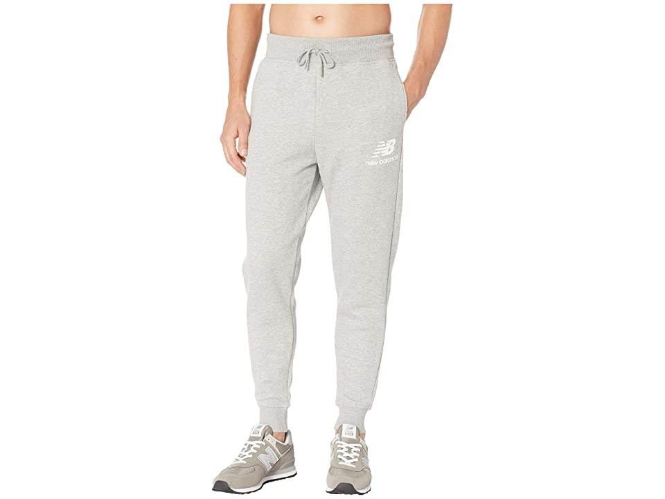 New Balance Essentials Brushed Sweatpants (Athletic Grey) Men