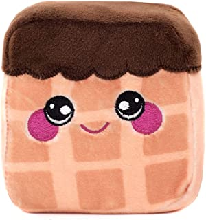 Squeezamals Dessert Series - 3.5 Super-Squishy Slow Rise Scented Foam Stuffed Desserts! Squeezable, Cute, Soft, Adorable! (Graham Chocolate Waffle)