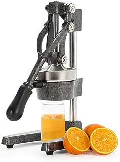 CO-Z Commercial Grade Citrus Juicer Hand Press Manual Fruit Juicer Juice Squeezer Citrus Orange Lemon Pomegranate (Gray)