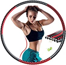 Smart Hula Hoop Hula Hoop 6 Afdeling Afneembare Weighted Hula Hoop Fitness For Adults Training Sports Fat Burning Adujusta...
