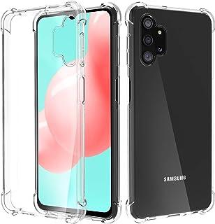 Migeec Funda para Samsung Galaxy A32 5G Suave TPU Gel Carcasa Anti-Choques Anti-Arañazos Protección a Bordes y Cámara Prem...