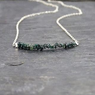 raw diamond jewelry
