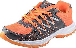 Flex Run Men Orange Sports Shoes FLR 011