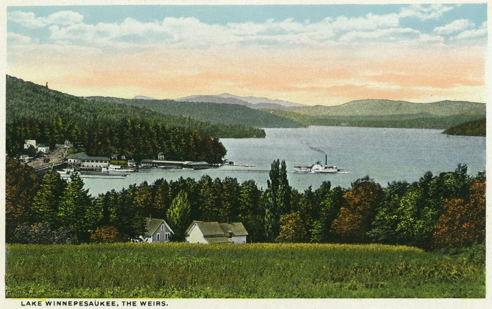Lake Don't miss the campaign Lowest price challenge Winnipesaukee New Hampshire - View the of 36x54 Weirs Gic