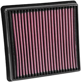 K&N Engine Air Filter: High Performance, Premium, Washable, Replacement Filter: Compatible with 2006-2018 JEEP/CHRYSLER (Grand Cherokee, Grand Cherokee IV, 300C) , 33-3029 , Black