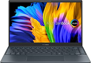 ASUS ZenBook 13 OLED UX325EA-OLED005T (Pine Grey)- Intel Core i5-1135G7 Processor 2.4 GHz, 8GB RAM, Intel Iris Xe Graphic...