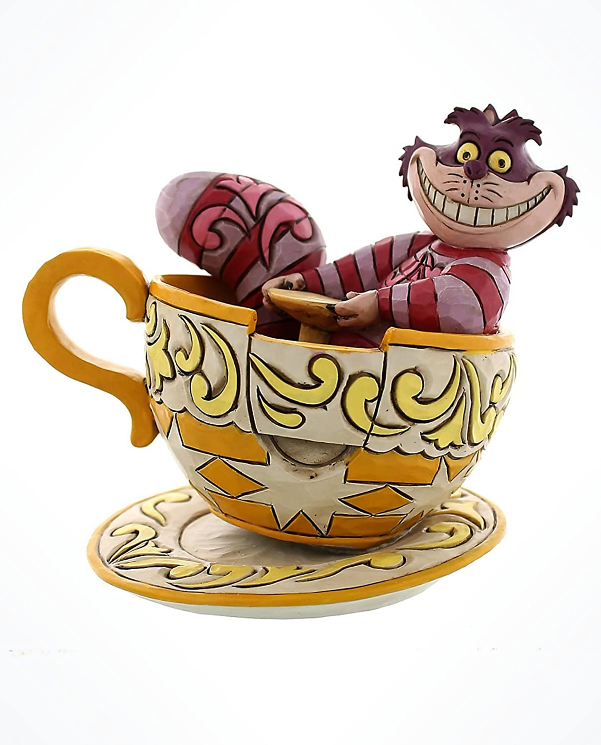 Disney Parks Cheshire Cat Tea Cup figurine by Jim shore