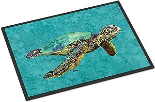 Caroline's Treasures 8659JMAT Turtle Indoor or Outdoor Mat 24x36 Doormat, 24H X 36W, Multicolor