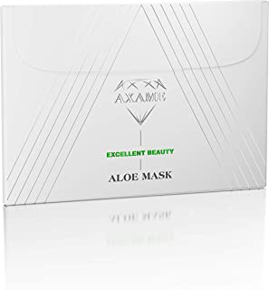 Axame - Masque Hydratant Haut de Gamme pour le Visage Hypoallergénique Anti-âge Anti-rides à l'Aloe Vera 25ml