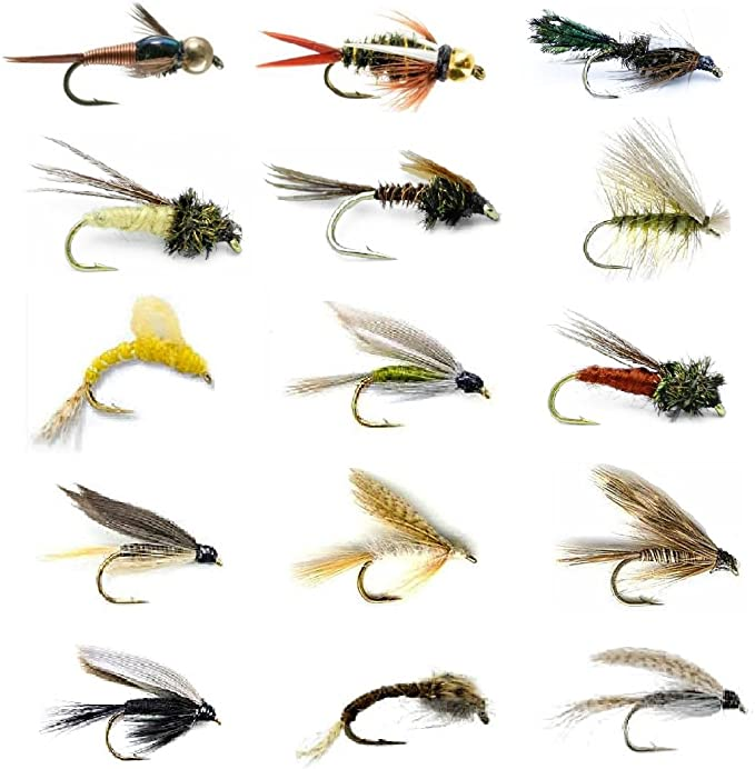 6 Pack Simple Claret Buzzers Buzzer Trout Flies Fly Fishing Choice of sizes