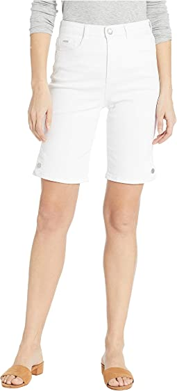 Soft Hues Denim Suzanne Bermuda in White