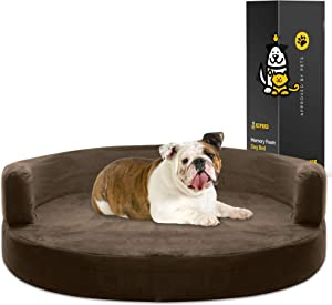 KOPEKS Deluxe Round Sofa Lounge Dog Bed