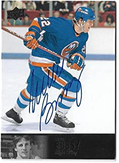 2012-13 Upper Deck Ultimate Collection 1997 Legends Autograph AL-48 Mike Bossy New York Islanders