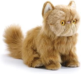 Nat and Jules Small Persian Cat Friend Muted Orange Children's Plush Stuffed Animal Toy