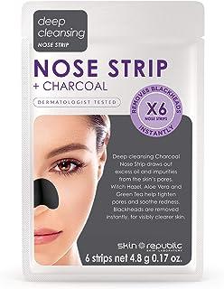 Skin Republic Face Masks Pores 6 Strips