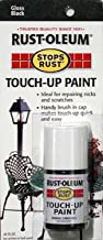 Rust-Oleum 215057 Stops Rust Touch-Up Paint, 0.45-Ounce, Black
