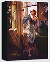 Heather Theurer Cinderella's New Day - Treasures on Canvas - Disney Fine Art Gallery Wrapped Canvas Wall Art
