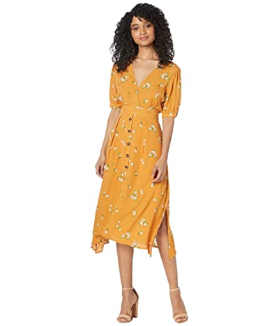ASTR the Label Oakley Dress (Apricot Floral) Women