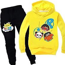 Boys & Girls Ryans Hoodie World 2 Pieces Trainingspakken Outfits, Top Met Lange Mouwen En Broeken YouTube Toy Review, Trai...