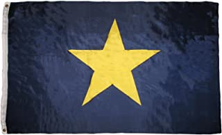 ALBATROS 3 ft x 5 ft Burnettin Burnet Burnett 1st Texas Republic Flag 3 ft x 5 ft ft 1836-1839 Revolution for Home and Parades, Official Party, All Weather Indoors Outdoors
