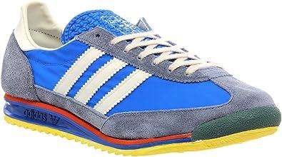 adidas Originals SL72 Chaussures de Sport Running Homme (40 2/3 EU, Bleu (Air Force Blue/Legacy/Slate))
