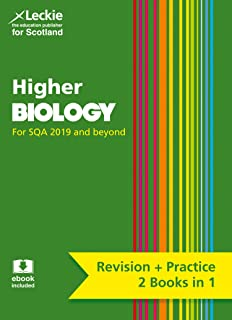 Complete Revision and Practice SQA Exams – Higher Biology Complete Revision and Practice: Revise Curriculum for Excellence SQA Exams