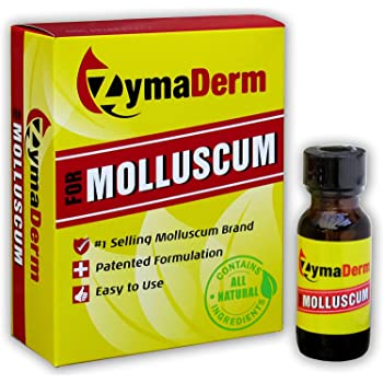 ZymaDerm Natural Molluscum Contagiosum Treatment for Kids & Adults, Fast, Gentle & Painless Plant-Based Formulation – FDA Registered, Made in USA, 13 Milliliter