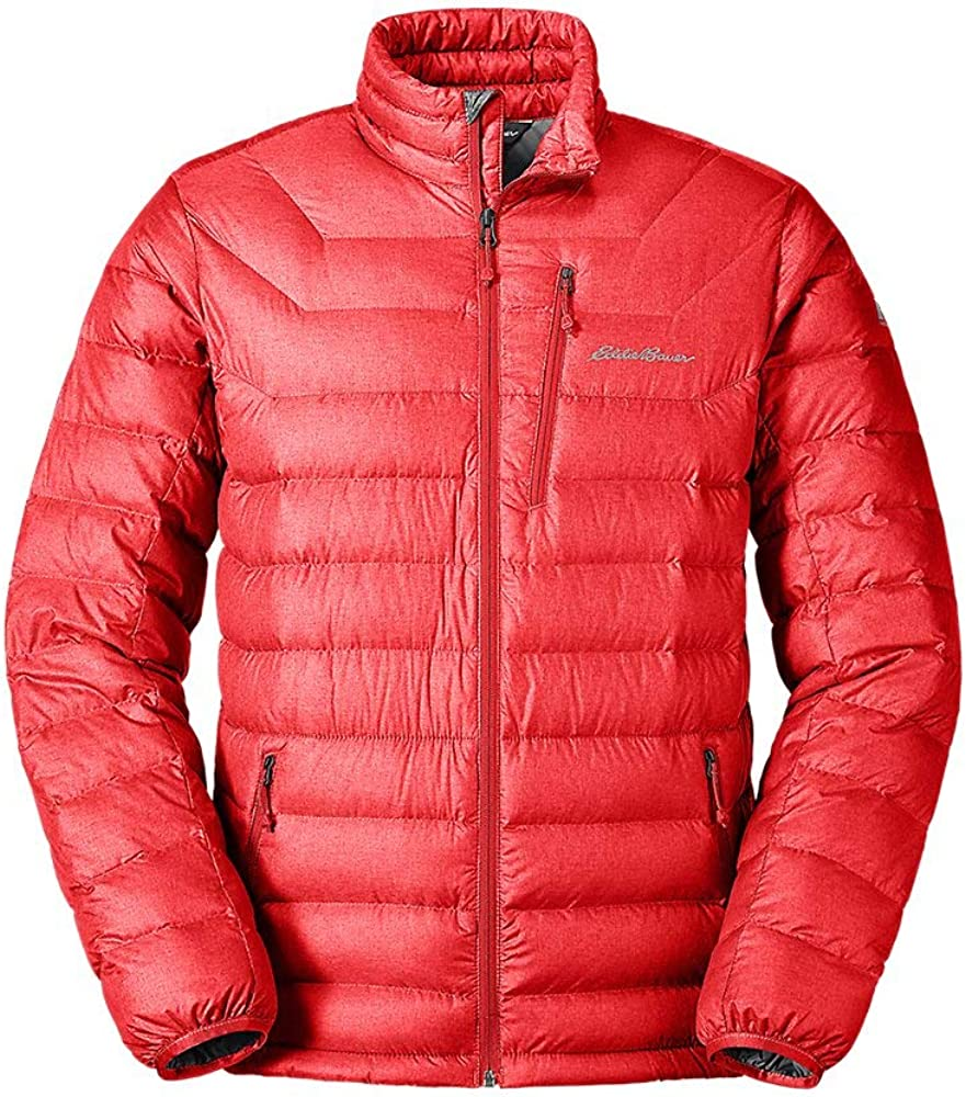 Eddie Bauer Men's Downlight Jacket, Pimento Regular M